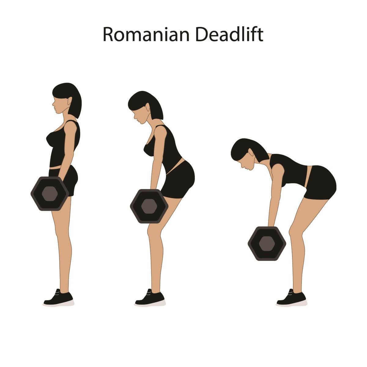 羅馬尼亞式 硬拉 Romanian Deadlift